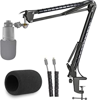 AT2020 Microphone Stand with Pop Filter Suitable for Microphone AT2020 AT2035 AT2020USB+ by YOUSHARES