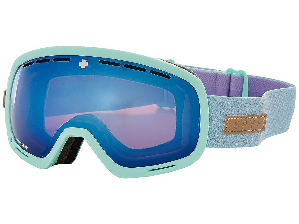 Spy Optic Marshall (Herringbone Mint Happy Rose w/ Dark Blue Spectra) Snow Goggles