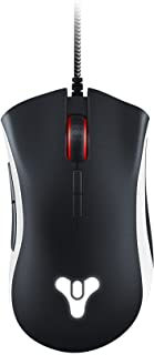 Razer DeathAdder Elite Gaming Mouse: 16,000 DPI Optical Sensor - Chroma RGB Lighting - 7 Programmable Buttons - Mechanical Switches - Rubber Side Grips - Destiny 2 Edition