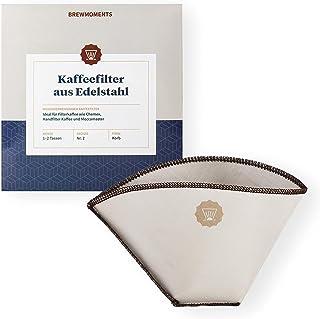 Brewmoments Kaffefilter av rostfritt stål I Återanvändbart I Permanent I Permanent I Utomhus I Coffee Filter I Rostfritt s...