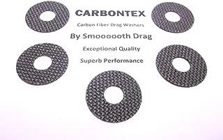 Daiwa Reel Part - Saltiga Surf 6000 - (5) Smooth Drag Carbontex Washers #SDD155