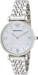 Emporio Armani Ladies Wrist Watch, Silver