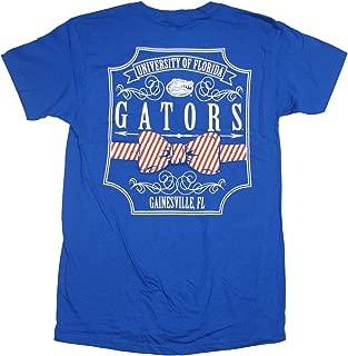 University of Florida Gators Pattern Bow Tie T-Shirt