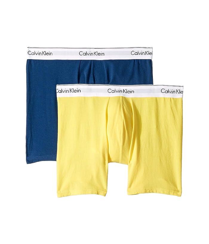 c9c28115598f Calvin Klein Underwear Modern Cotton Stretch Boxer Brief at Zappos.com