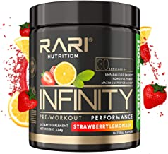 RARI Nutrition - Infinity Pre Workout Powder - Natural Preworkout Supplement for Men and Women - Keto and V...