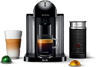 Nespresso Vertuo Coffee and Espresso Machine by Breville with Aeroccino, Black