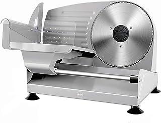 trancheuse eldom KR400, trancheuse électrique, 2 couteaux en acier inoxydable, trancheuse à fromage, trancheuse à pain, 15...