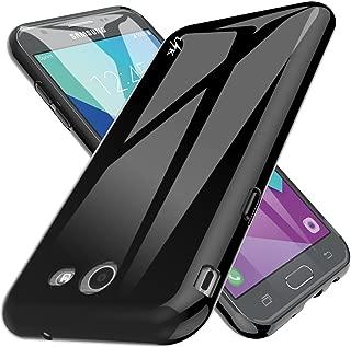 LK Case for Samsung Galaxy J3 Emerge / J3 2017 / J3 Prime / J3 Mission / J3 Eclipse / J3 Luna Pro/Sol 2 / Amp Prime 2 / Express Prime 2, Ultra [Slim Thin] TPU Silicone Protective Case Cover (Black)