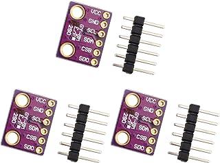 HALJIA 3 unidades GY-BME280-3.3 de alta precisión I2C SPI Breakout presión barométrica temperatura humedad módulo de senso...