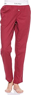 Calvin Klein Jeans Women's SLEEP Pants, Purple (Raspberry Jam Heather RJH), Large