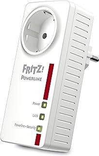 AVM Fritz!Powerline 1220E Single International, Adattatore/Estensore di rete attraverlo la linea elettrica, 1200 Mbit/s, 2...