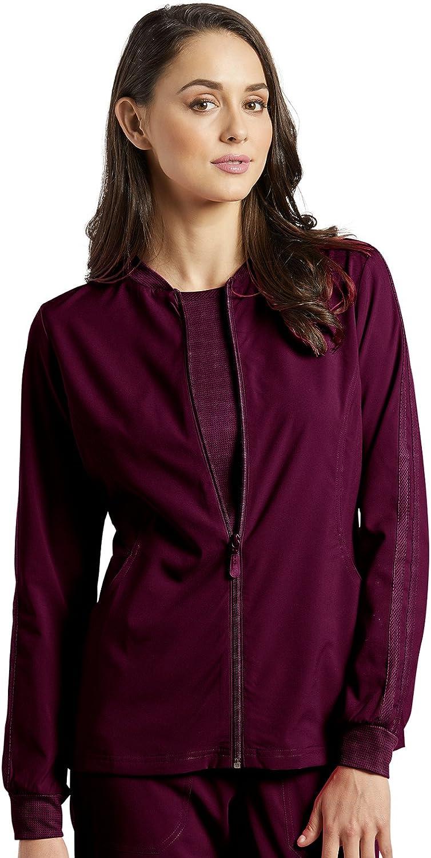 White 激安セール Cross Fit Women's お買得 Jacket Front 957 Zip