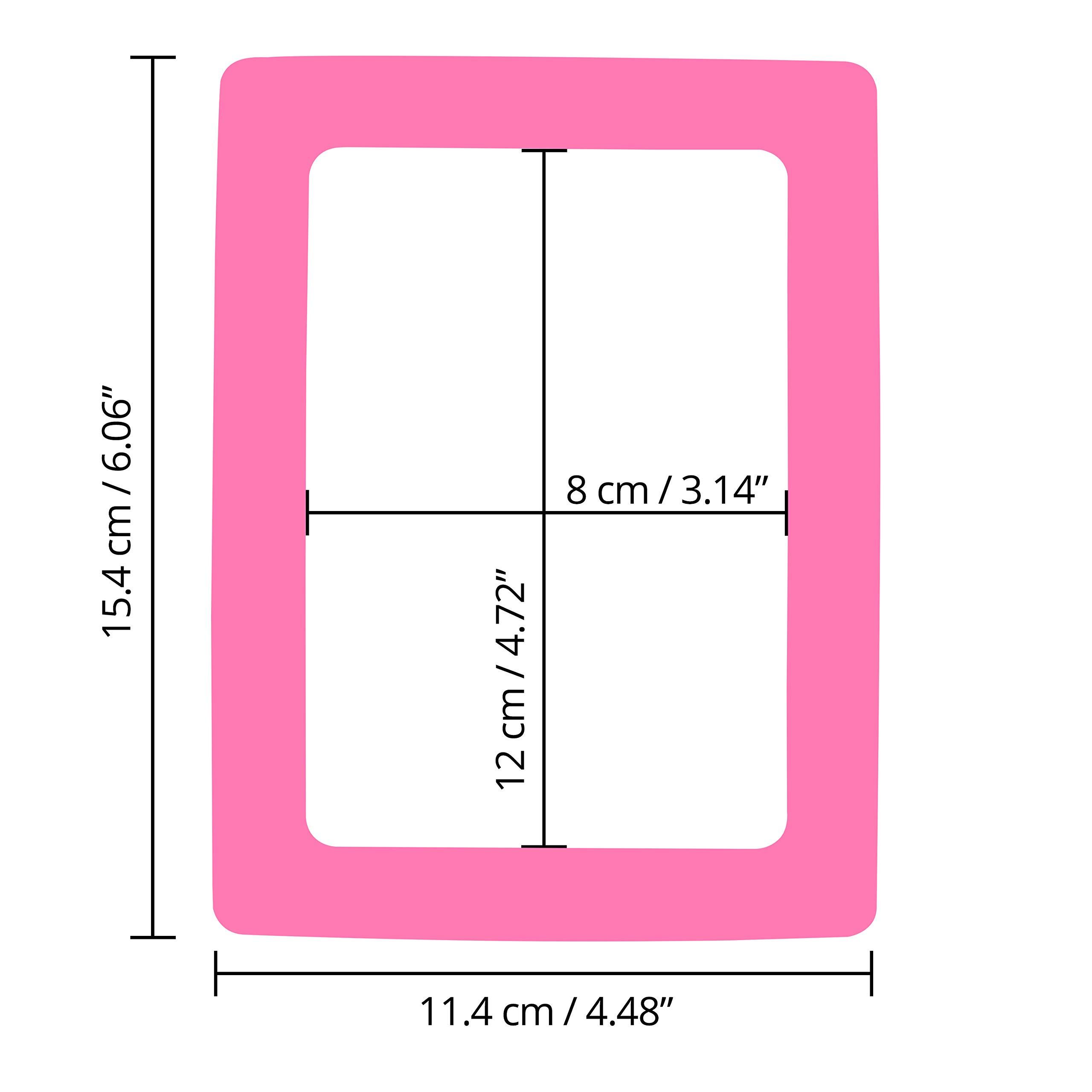 Marco de Fotos con Iman para Refrigerador - Pack 15 Marco Magnetico 5 Colores Surtidos - Iman Portafoto Nevera para Foto 11.4 cm x 15.4 cm (4 x 6 inches) para Fotos Familiares, Diversión para Niños: Amazon.es: Hogar