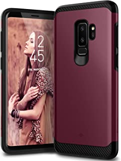Caseology Legion for Galaxy S9 Plus Case (2018) - Reinforced Protection - Burgundy