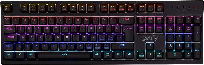 Xtrfy K2 Gaming Tastatur, Kailh Red - RGB LED, UK Layout, XG-K2-R-RGB-UK