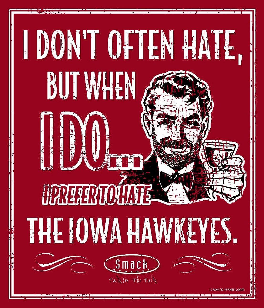 落ち着く日機関ネブラスカ州サッカーファン。I Prefer to Hate the Iowa Hawkeyes 12?