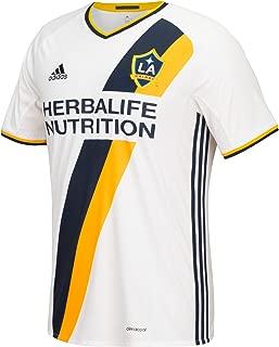 MLS Los Angeles Galaxy Giovani Dos Santos Short Sleeve Replica Jersey, X-Large, White