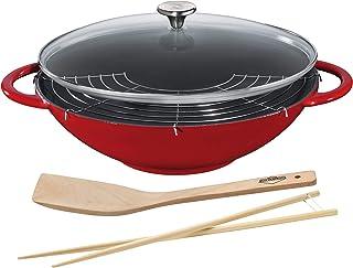 Küchenprofi 04 1500 14 37 Wok Fonte Rouge 36 cm