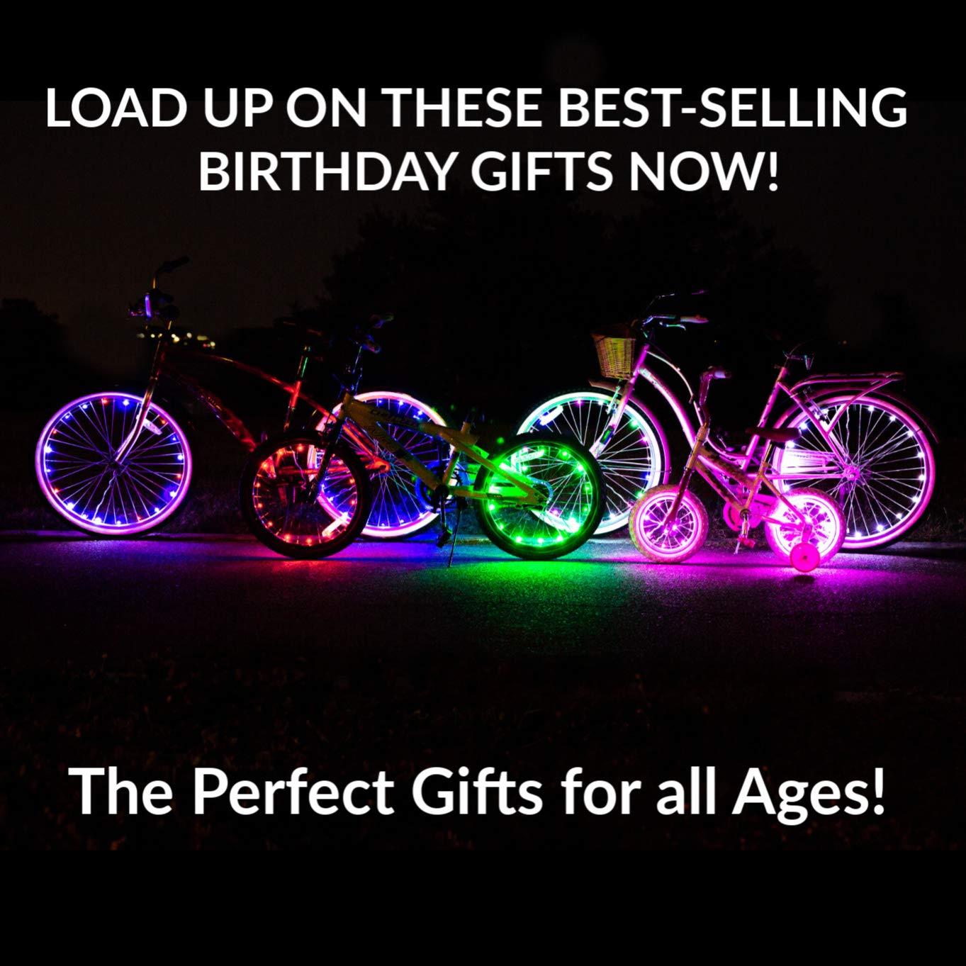 Activ Life Luces LED bicis (Set de 1 Rojo). Ideas para Regalo de ...