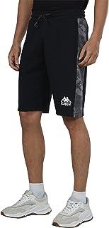 Kappa Men's 4202047 30MXVOCAMO Relaxed Shorts, Black