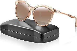 99319553ee Las gafas de sol para mujer polarizadas anti-UV 400 con diseño de diamante,