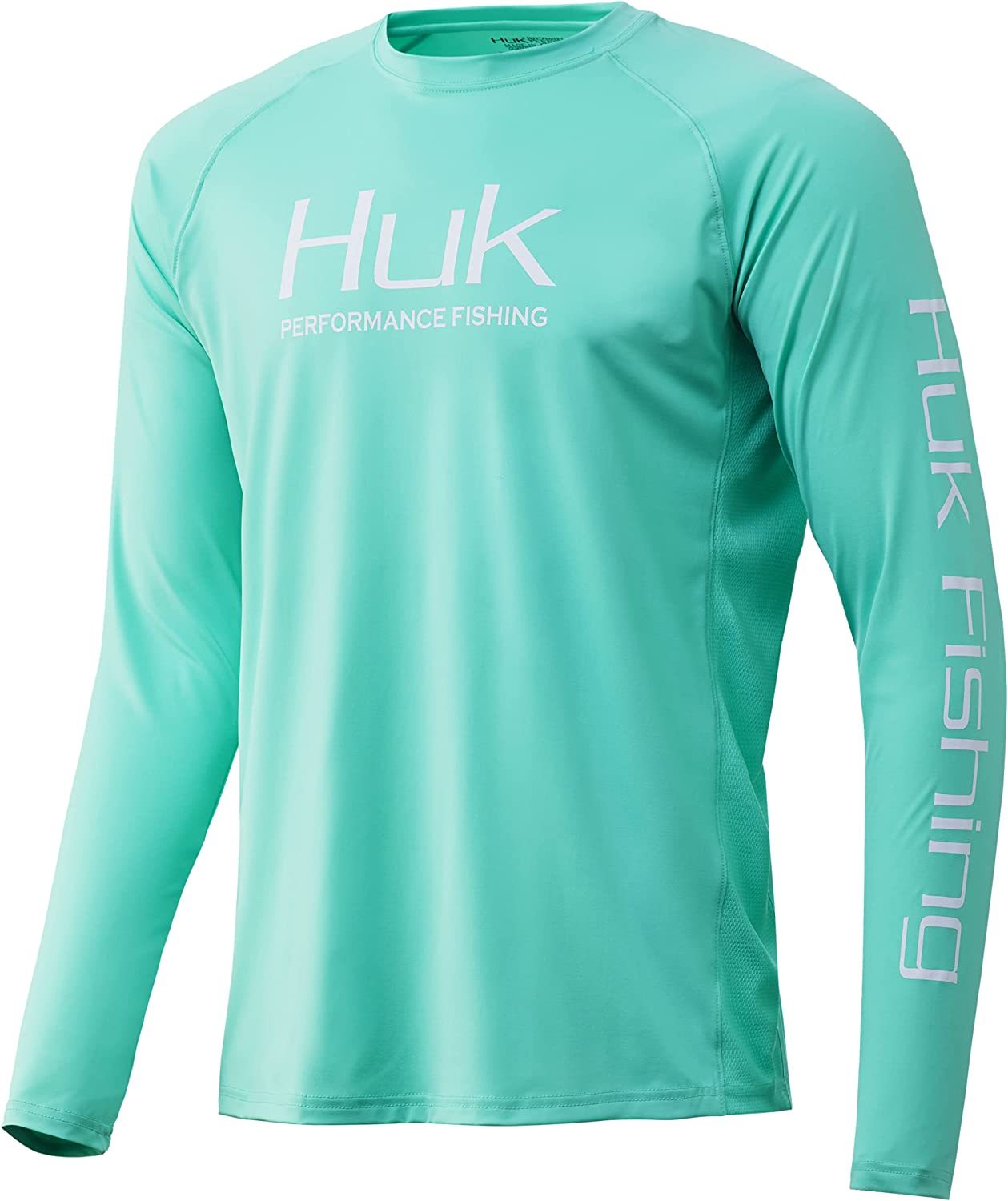 HUK Men's Pursuit Vented Long Sleeve Free shipping San Diego Mall anywhere in the nation UPF Fishing Shirt 30 Elect