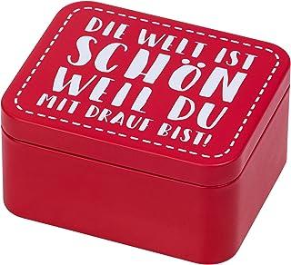 RBV Birkmann 438101 Colour Kitchen Boîte cadeau en fer blanc