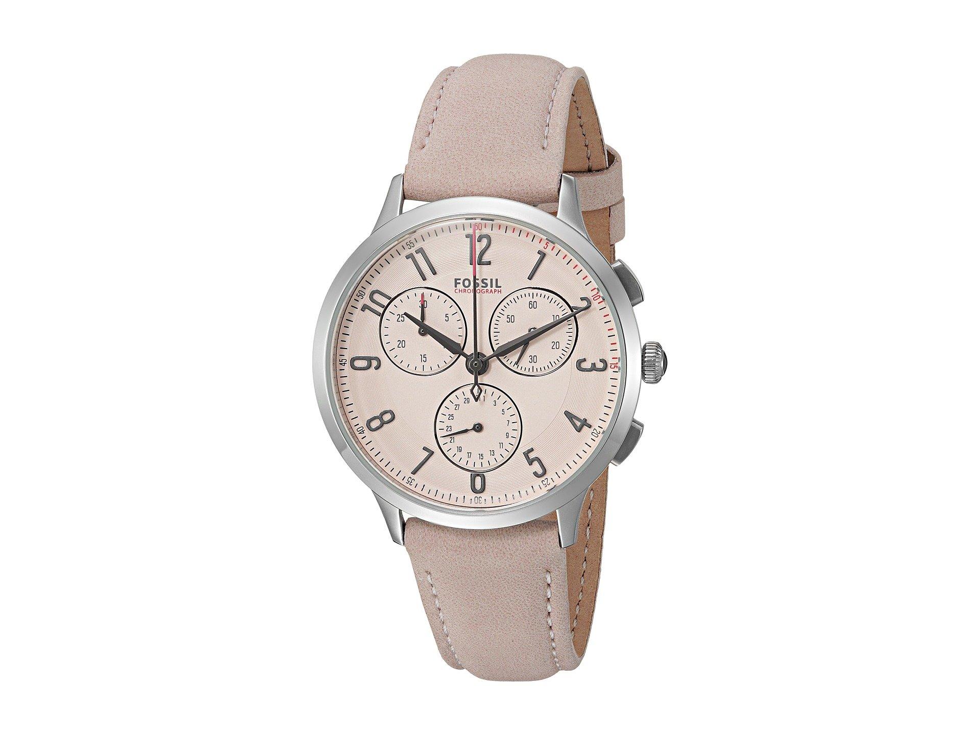 Reloj para Mujer Fossil Abilene Sport Leather - CH3088  + Fossil en VeoyCompro.net