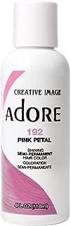 Adore Semi-Permanent Haircolor #192 Pink Petal 4 Ounce (118ml)