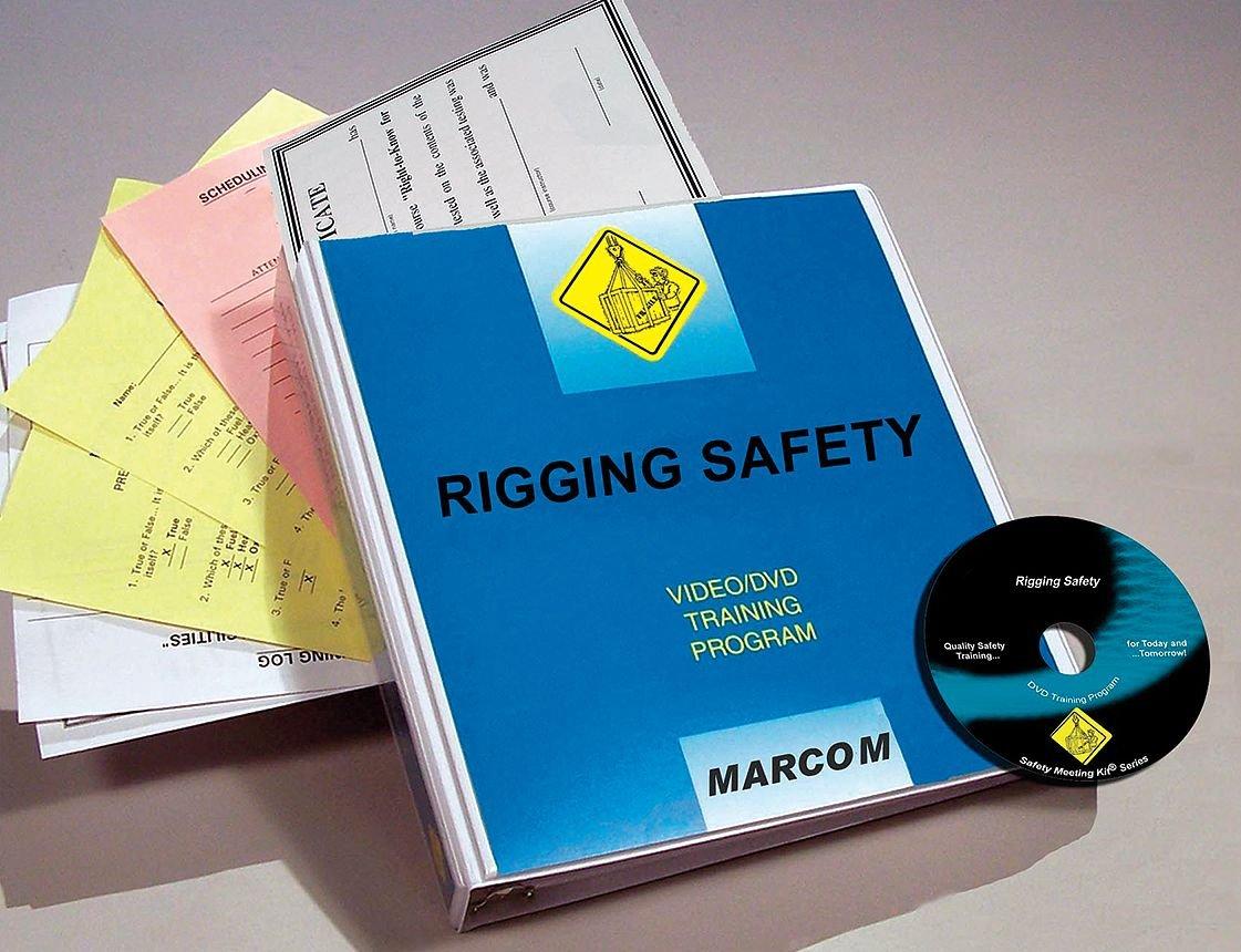 Marcom Group shop V0001239EM Rigging Training Max 67% OFF Safety DVD