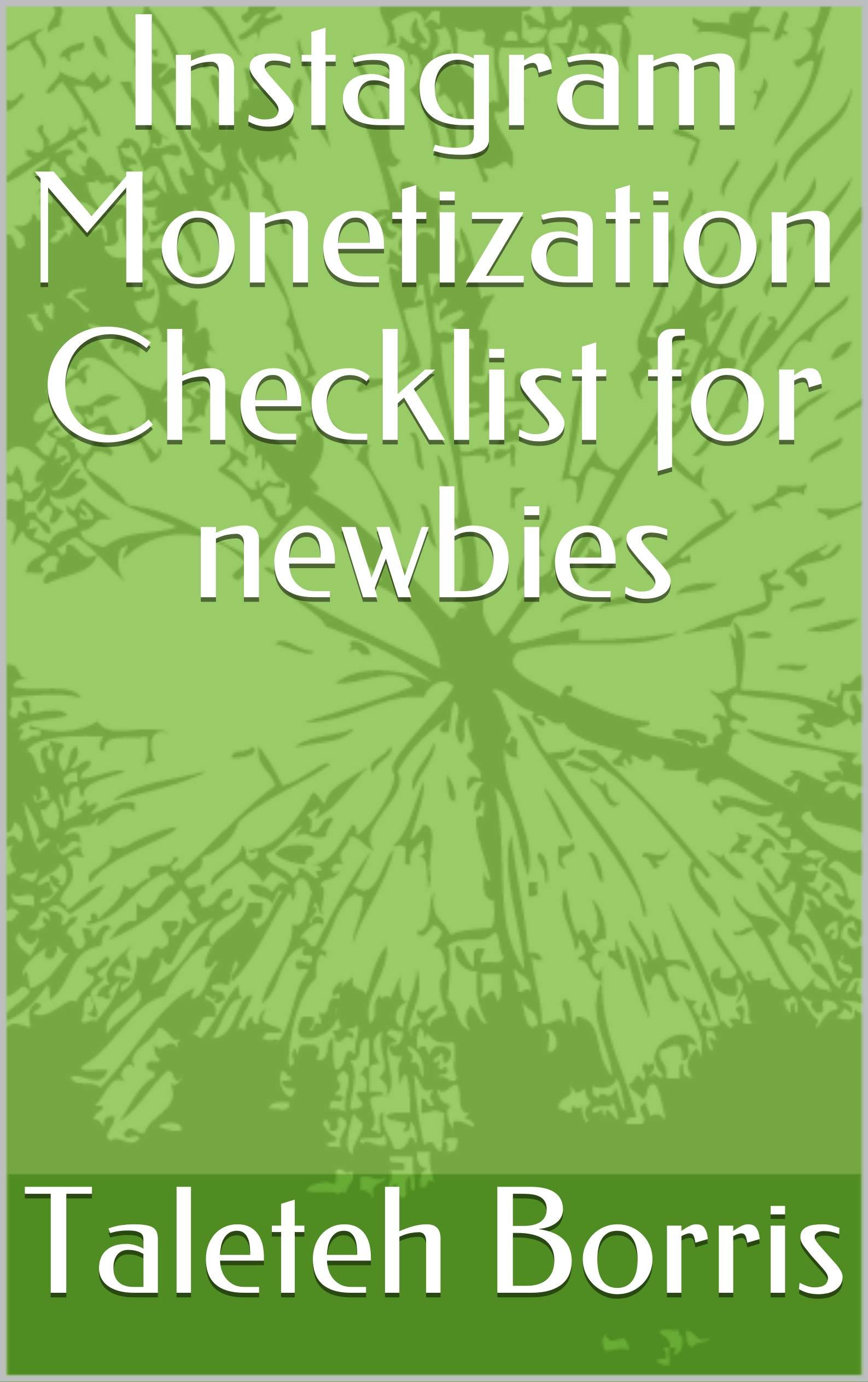 Instagram Monetization Checklist for newbies