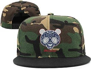 d81d957ec868b TTZHI Camouflage Baseball Cap for Men Women,Missouri Skull The Show me  State Bear Adjustable