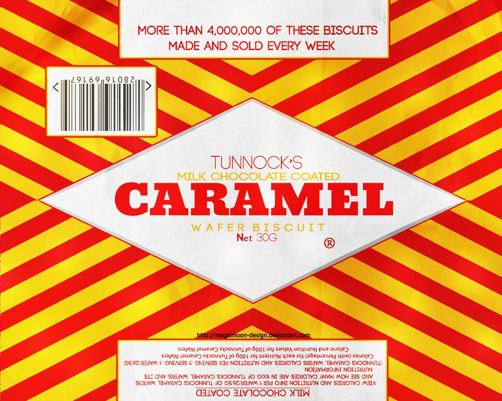 Tunnocks Caramel Wafers (12 Bars Package)