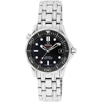 [オメガ] 腕時計 シーマスター ブラック文字盤 コーアクシャル自動巻 300M防水 212.30.36.20.01.002 並行輸入品 シルバー [並行輸入品]