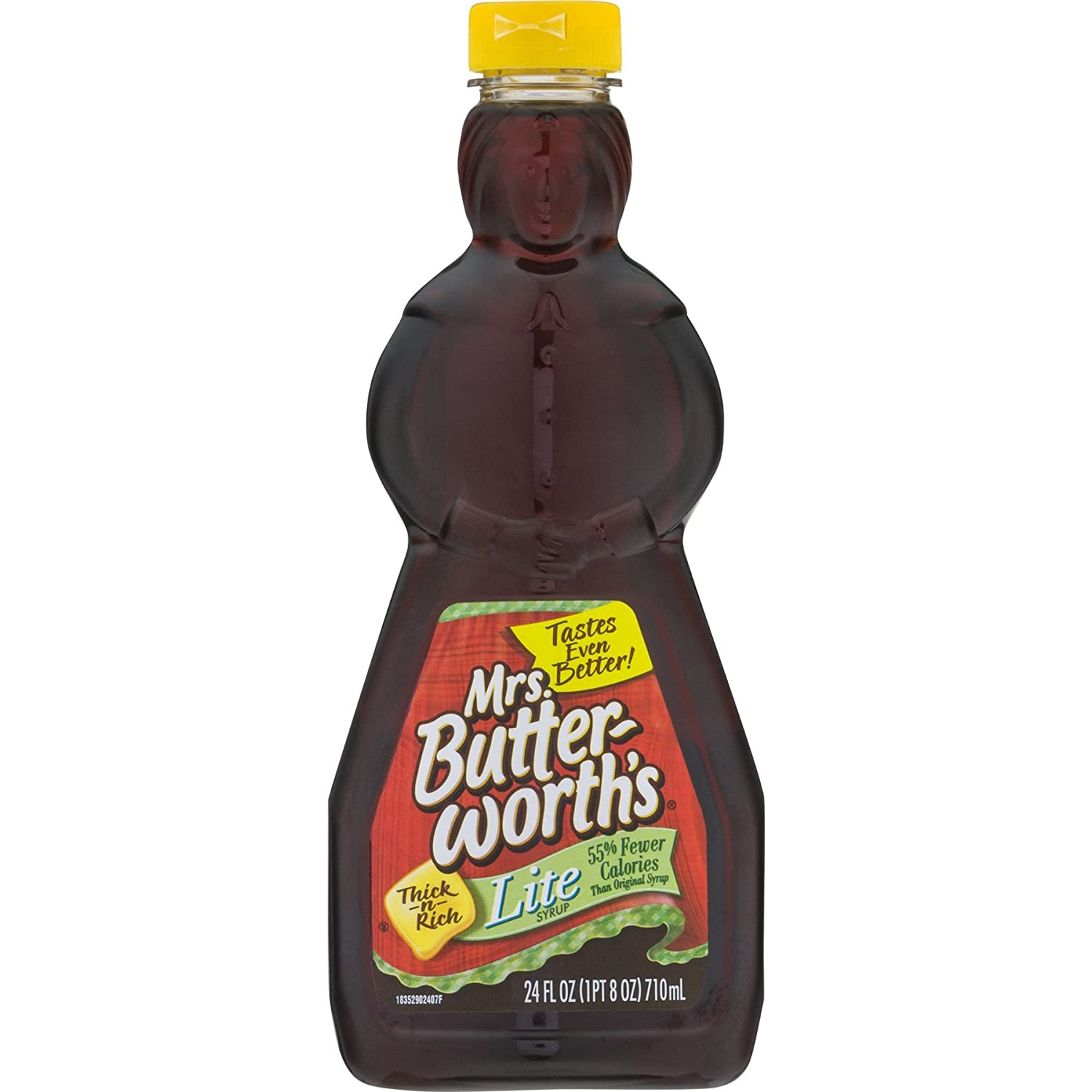 Mrs. Butterworth's Syrup Lite Max 41% OFF 24 Pack of Ounce Free shipping 12