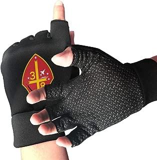 3rd Battalion 8th Marine Regiment Men's/Women's Half Finger Anti Slip Sports Gloves
