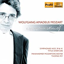 Mozart: Symphony Nos. 39 and 41 / La Clemenza Di Tito: Overture
