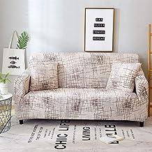 AUWANGAOFEI Floral Printed Sofa Cover, Suitable for Four Seasons Living Room Furniture Protection Elastic Sofa Cover (Colo...