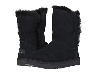 UGG Classic Short Fluff High-Low (Black) Women