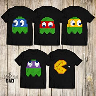Ghost Face 8bit Ninja Turtles Pixel Raphael-Donatello-Michaelangelo-Leonardo Halloween Christmas Gift Customized Handmade T-Shirt Hoodie/Long Sleeve/Tank Top/Sweatshirt