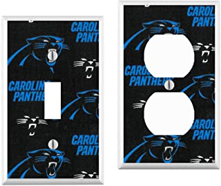 Carolina Panthers Light Switch Cover : your custom choice of switch plate/outlet covers