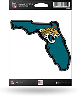 Rico Industries NFL Jacksonville Jaguars Home State Sticker