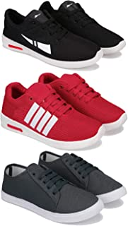 Bersache Combo Pack of 3,Sports Running Shoe for Men