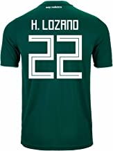 adidas H. Lozano #22 Mexico Home Soccer Stadium Men's Jersey World Cup Russia 2018