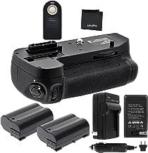 Battery Grip Bundle F/ Nikon D7100, D7200: Includes MB-D15 Replacement Grip, 2-Pk EN-EL15 Replacement Long-Life Batteries, Charger, UltraPro Accessory Bundle