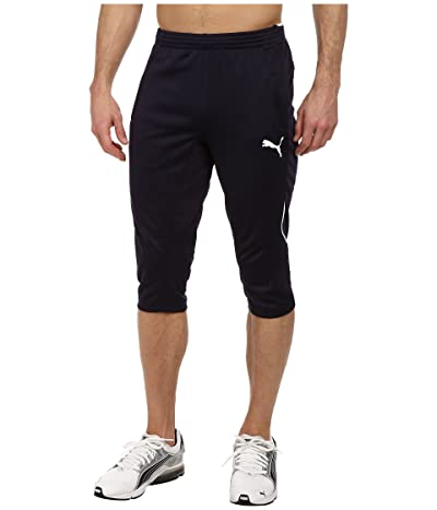 PUMA 3/4 Training Pant (New Navy/White) Men
