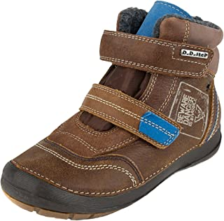Kids New Renegade Sole Touch Strap Coated Leather Back2School Shoes Size 13-5