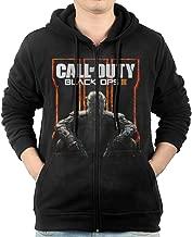 SFG Mens Call Of Duty Black Ops Iii Jogging Classic Hoodie Hoodies Casual Style Black
