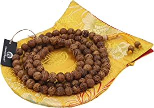 DharmaObjects Tibetan Buddhist MEDITATION 108 Beads Genuine BODHISEED MALA For Compassion