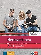 Netzwerk neu a1.1, libro del alumno y libro de ejercicios, parte 1: Deutsch als Fremdsprache. Kurs- und Übungsbuch mit Aud...